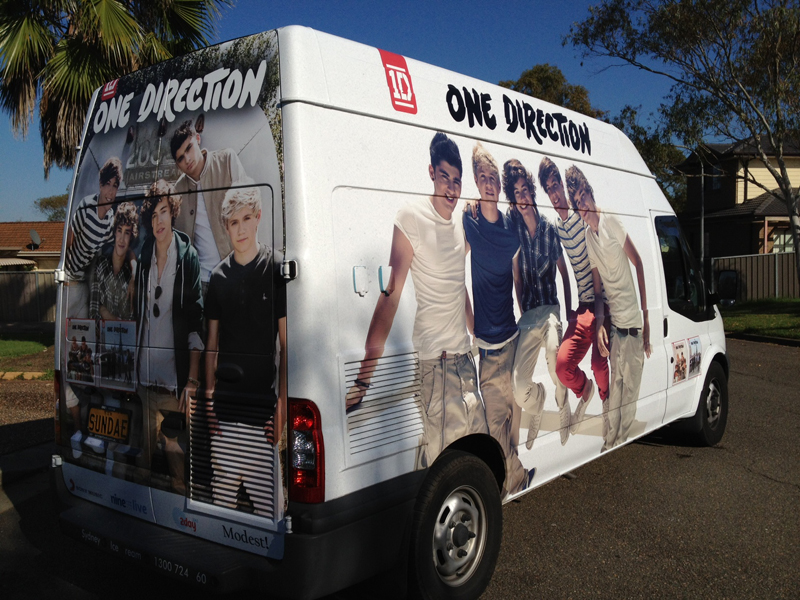 Sydney Ice Cream & Coffee - One Direction