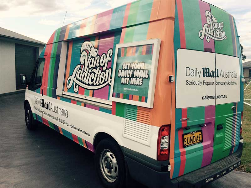 Sydney Ice Cream & Coffee - The Van Of Addiction - Daily Mail Australia