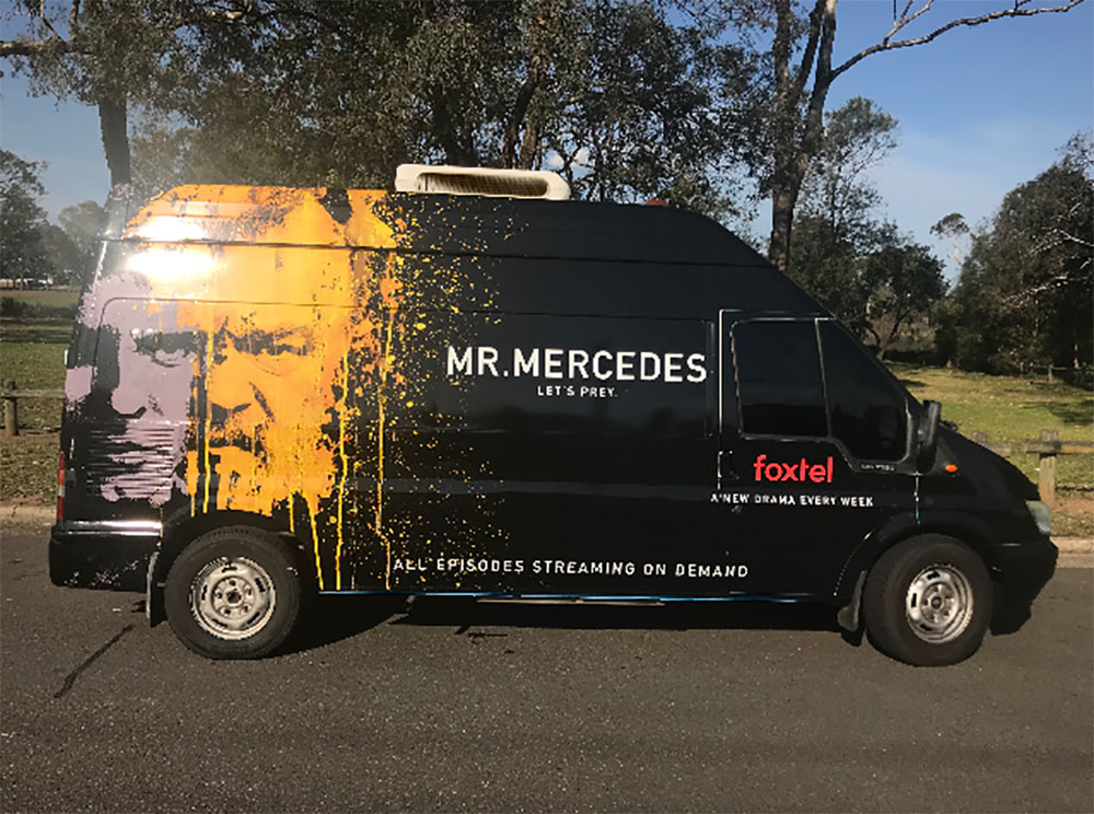 Mr. Mercedes - Clients UMM and Foxtel
